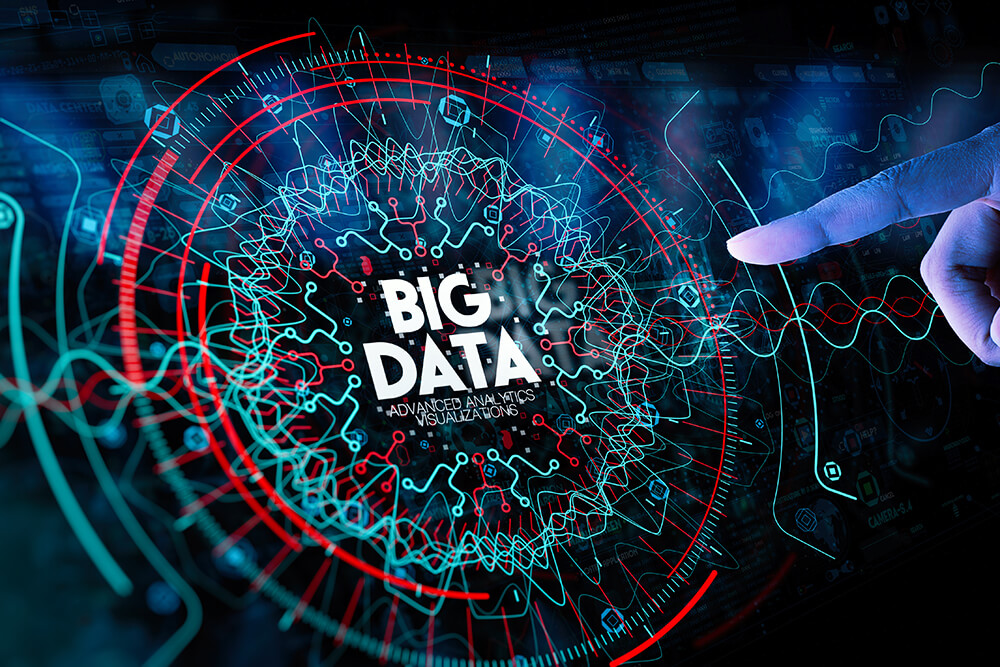 What are the 4 Vs of Big Data?